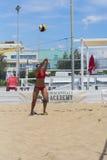 Пляжный волейбол roma игры Стоковые Изображения RF