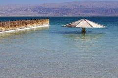 Пляжный комплекс мертвого моря в Израиле стоковая фотография