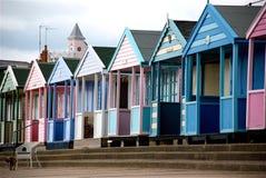 Пляжный домик Sufflok Стоковые Фото
