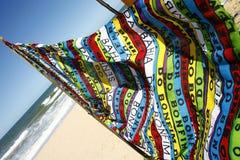 Пляжный полотенце Стоковое Фото