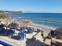 Пляжный ресторан стоковые фото