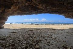 Пляж Австралия пещер стоковая фотография rf