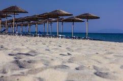 Пляж лагуны Греции Стоковое Изображение