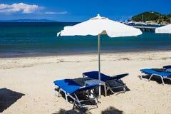 Пляж лагуны Греции Стоковая Фотография RF