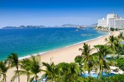 Пляж Акапулько Стоковые Фотографии RF