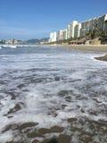 Пляж Акапулько Стоковая Фотография RF