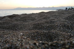 Пляж Антальи Стоковое Фото