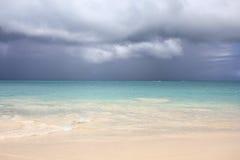 Пляж Антигуы Стоковые Изображения