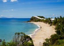 Пляж Антигуы Стоковая Фотография RF