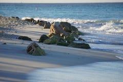 Пляж Аруба Стоковые Изображения