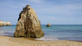 Пляж Алгарве видеоматериал