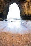 Пляж Алгарве Стоковые Изображения