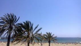 Пляж Аликанте Стоковое Изображение