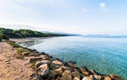 Пляж алы Punta Стоковая Фотография