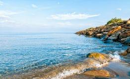 Пляж алы Punta Стоковые Изображения RF