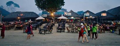 Пляж Бали Jimbaran Стоковая Фотография