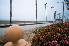 Пляж берега океана Стоковые Фотографии RF