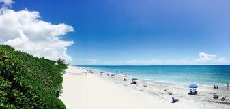 Пляж Бока-Ратон Стоковое Изображение