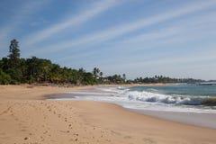 Пляж бортовое #3 Стоковое Изображение