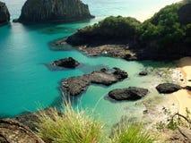 Пляж Бразилии Стоковые Изображения