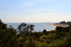 Пляж Брайтона купая коробки Стоковая Фотография RF