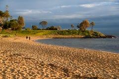 Пляж Брайтона около Мельбурна, Австралии Стоковое Фото