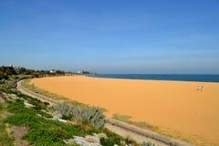 Пляж Брайтона Стоковые Фотографии RF