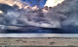 пляж бурный Стоковое Фото