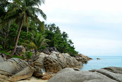Пляж бутылки (Таиланд) Стоковое Изображение RF