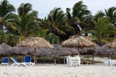 Пляж Варадеро в Кубе Стоковое Фото