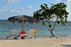 Пляж Варадеро Куба Blau Стоковая Фотография RF
