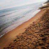 Пляж Валенсия Стоковое фото RF