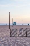 Пляж Венеции Стоковые Фотографии RF