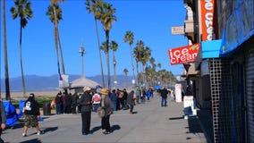 Пляж Венеции акции видеоматериалы