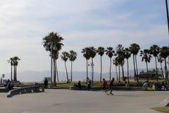 Пляж Венеции Стоковое Фото