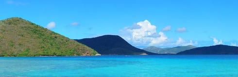 Пляж Виргинских островов стоковая фотография rf