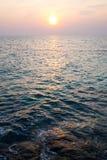 Пляж восхода солнца на острове Munnork Koh Стоковое Изображение RF