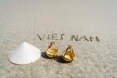 Пляж Вьетнама Стоковые Фото