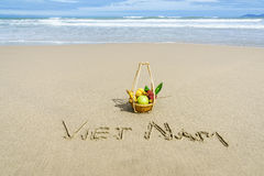 Пляж Вьетнама Стоковые Изображения