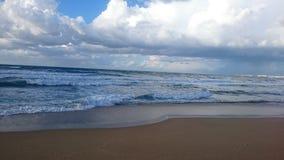 Пляж в Алжире Стоковое Изображение RF