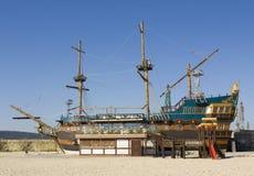 Пляж в Варне, Болгарии Стоковые Фото