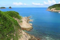 Пляж в Гонконге стоковая фотография