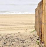 Пляж в городе океана Стоковые Фото