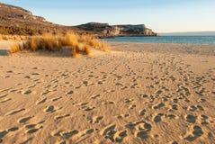 Пляж в Греции Стоковые Изображения