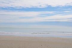 Пляж в Италии стоковые изображения rf