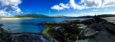 Пляж в Керри Ирландии графства Стоковые Изображения