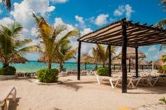 Пляж в Майя Косты стоковая фотография