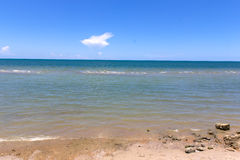 Пляж в празднике Стоковое Изображение