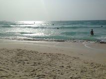 Пляж в пустыне Стоковое Изображение