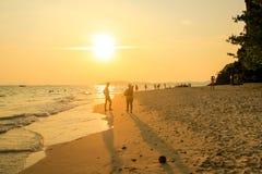 Пляж в Таиланде Стоковое Изображение RF